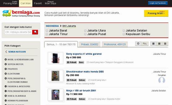 Situs Jual Beli Paling Populer di Indonesia 2014-10-25 12 00 00 1952 Views  2 Comments 5aab400167