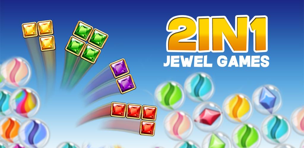 2in1 Jewel Games