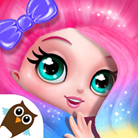 Candylocks Hair Salon - Style Cotton Candy Hair icon