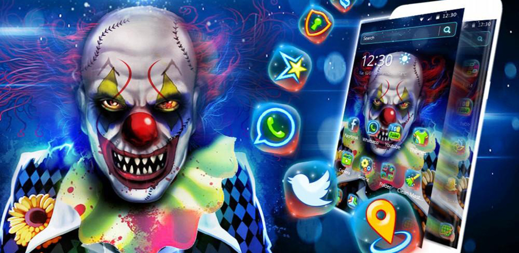Cool Joker Clown Theme
