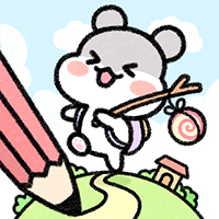 Hamster Town, the cutest drawing puzzle game ever icon