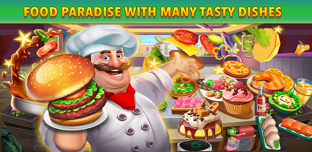 Cooking Star - Star Chef, Chef Cooking Games