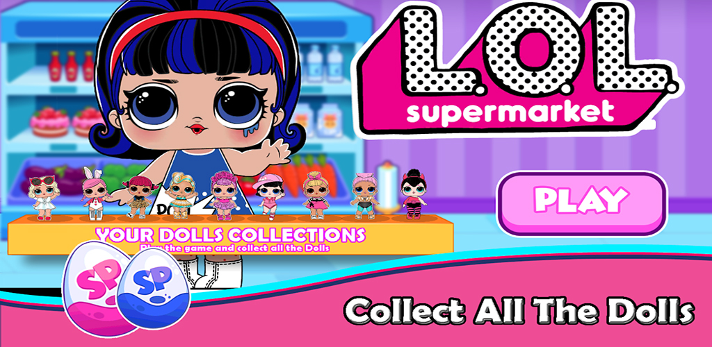 Dolls Games Grocery Store Supermarket Eggs