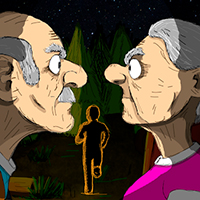 Grandpa And Granny Two Night Hunters icon