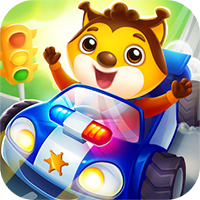 Car game for toddlers: kids cars racing games icon