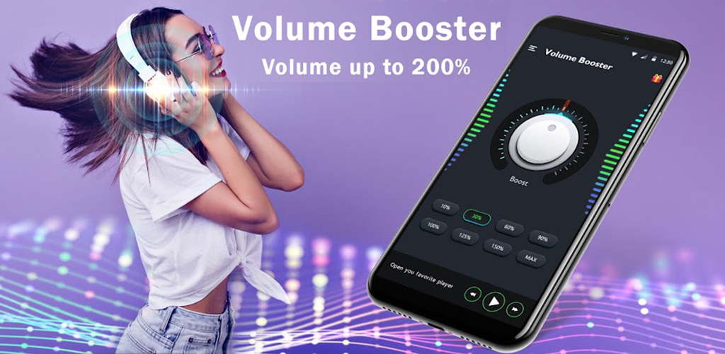 Super Volume Amplifier - Nuts Volume Booster