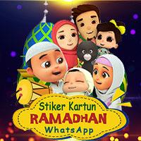 Kartun Ucapan Ramadhan WA | Sticker icon