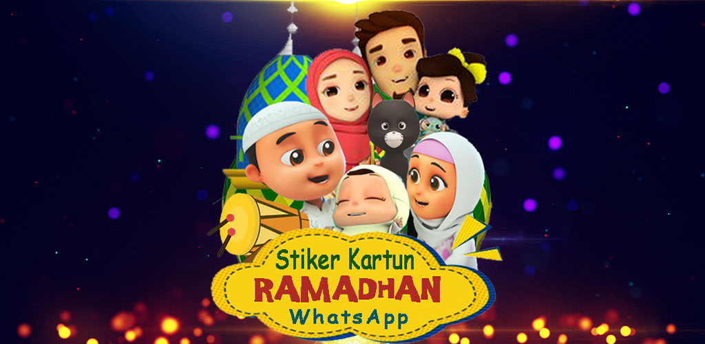 Kartun Ucapan Ramadhan WA   Sticker