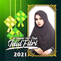 Idul Fitri 2021 Photo Frame Lebaran icon