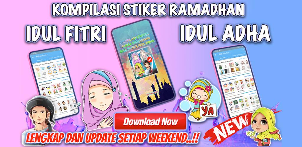 Ramadhan Idul Fitri & Idul Adha WAStickerApps