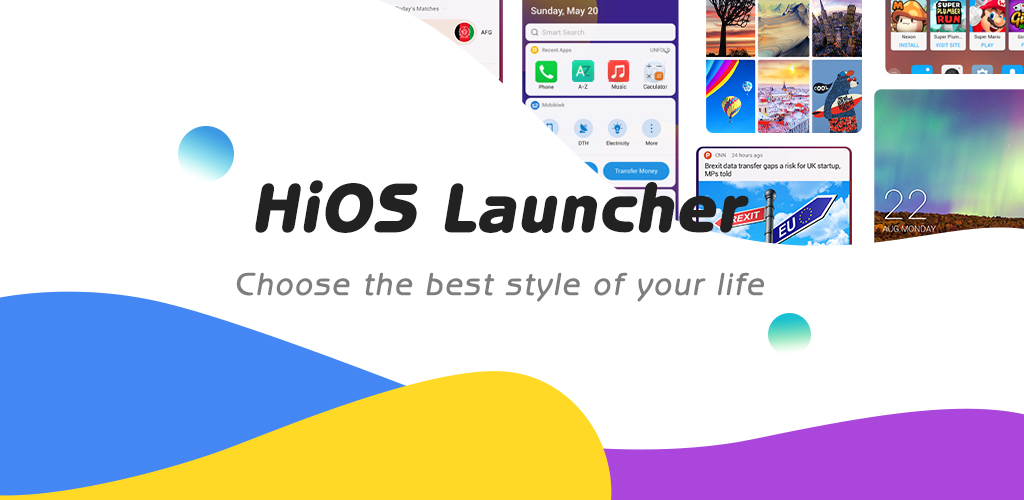 HiOS Launcher(2021)- Fast, Smooth, Stabilize