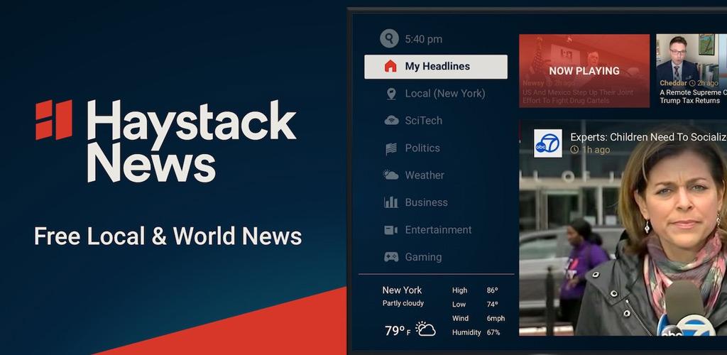 Haystack News: Local & World TV News - Free