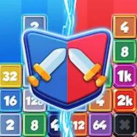 Drop Battle: 2048 Online games, 1v1 icon