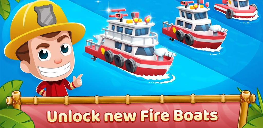 Idle Firefighter Tycoon
