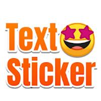 TextSticker - sticker for WhatsApp - WAStickerApps icon