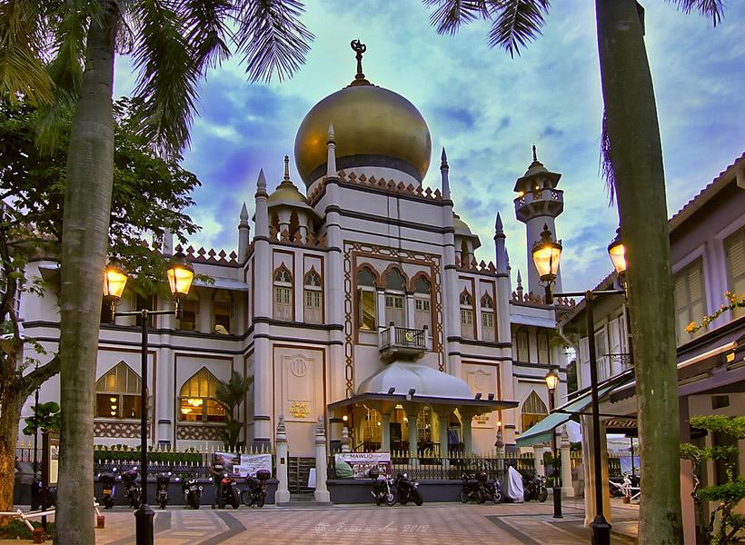 Masjid di Singapura Sediakan Penginapan Untuk Tunawisma