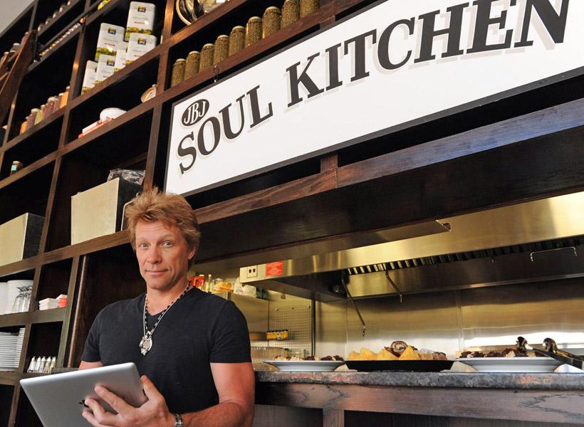 Jon Bon Jovi Buka Restoran Amal