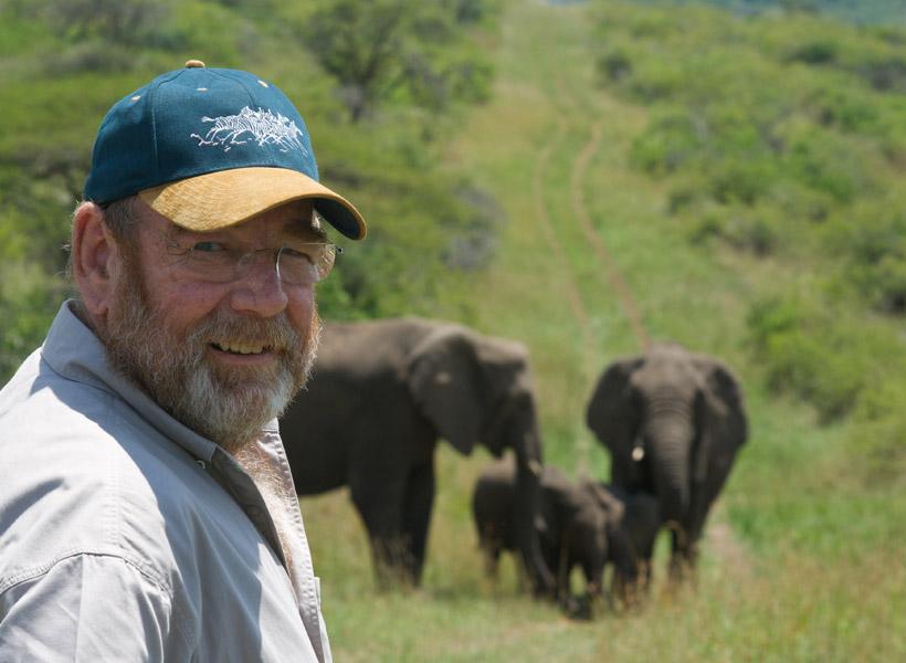 Kawanan Gajah Liar Beri Penghormatan Kepada Orang yang Menyelamatkannya