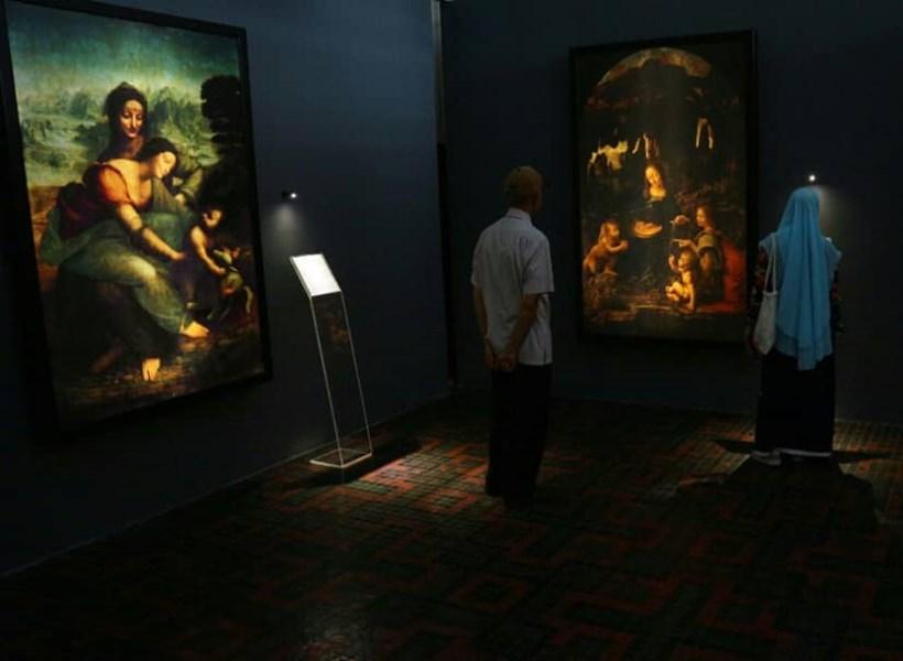 Mona Lisa Hadir di Museum Bank Mandiri