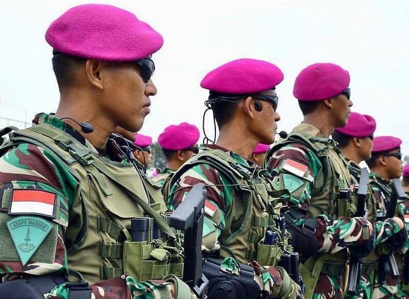 Sejarah Baret Ungu Korps Marinir TNI AL