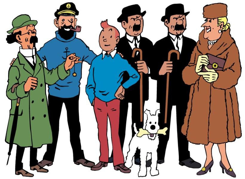 Mengenal Karakter-Karakter Utama dalam Komik Tintin