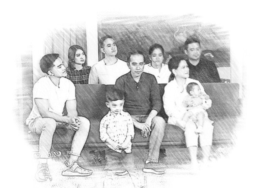 Kisah Anak-Anak Presiden Joko Widodo