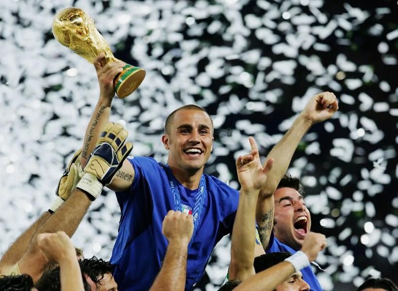 Jejak Karir Sepak Bola Fabio Cannavaro