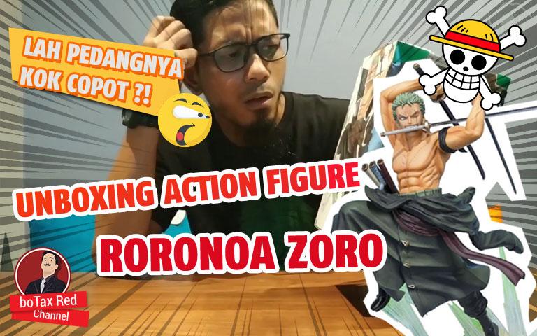 GA BELI RUGI !!! UNBOXING RORONOA ZORO FIGUREART ZERO