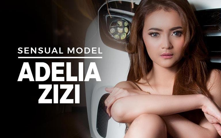 Male Indonesia - Lekuk Indah ADELIA ZIZI, Model Seksi yang Mengundang Fantasi
