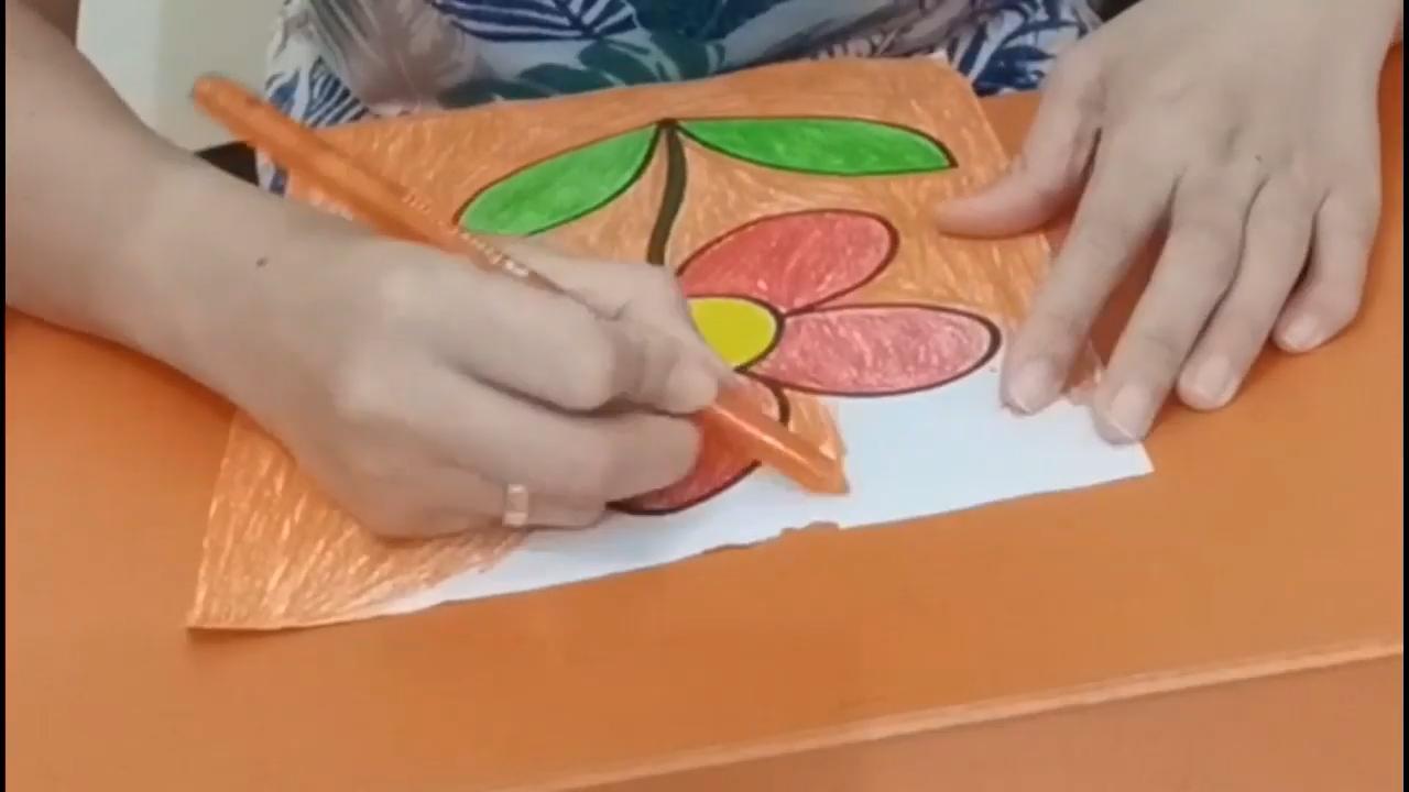 Ms. Lia Guru TK - Making the Background Picture - Membuat Background Pada Gambar