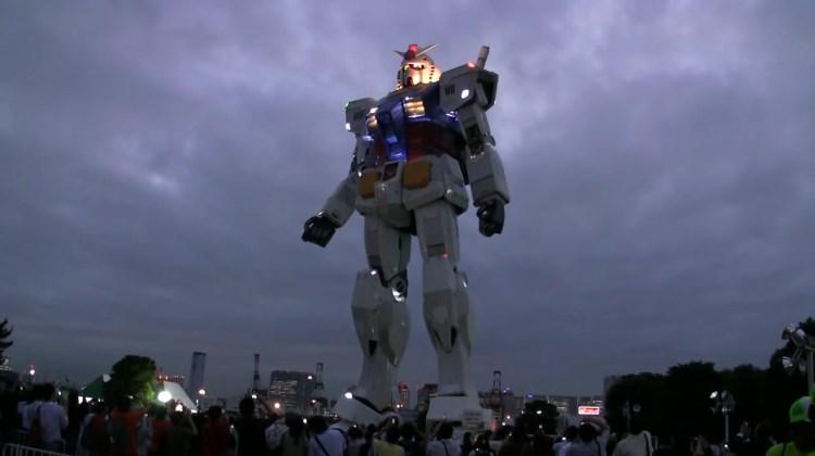 Gila Mainan - Lihat langsung Gundam Ukuran Asli