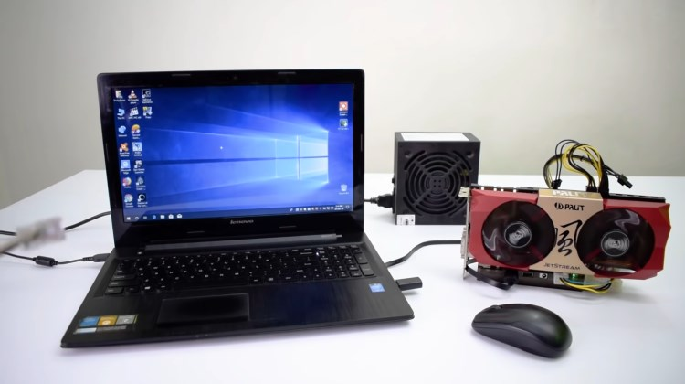 TechCom - Laptop Pake Eksternal VGA Card