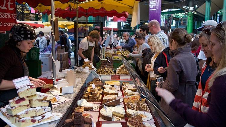 Kuliner Channel - London Street Food Fresh Food Market in London BROUGH