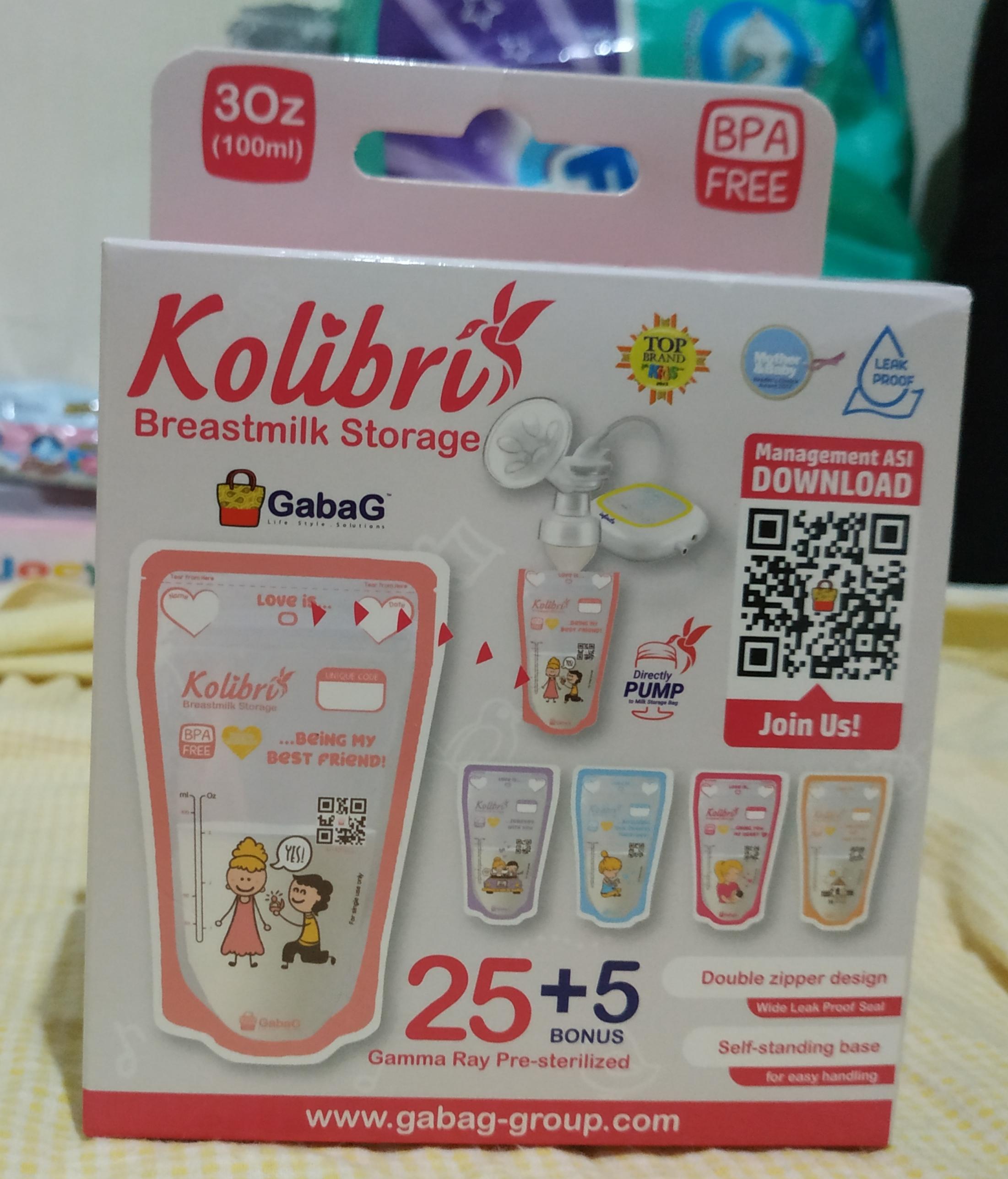 Mother of cat - [Review Product] Breastmilk Storage - Kolibri Gabag 100ml