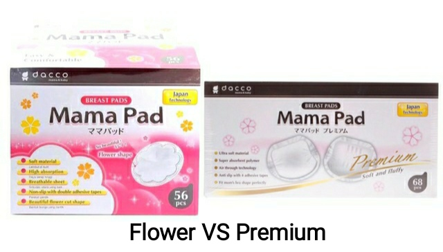 Mother of cat - [Review Product] Mama Pad Flower Vs Premium