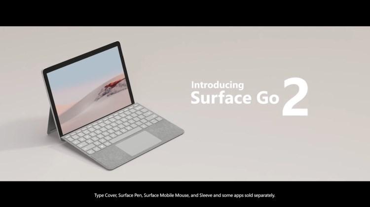 TechCom - Ini Dia Penampakan Microsoft Surface Go 2
