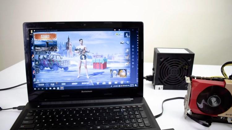 TechCom - Cara Menghubungkan VGA Card Eksternal ke Laptop