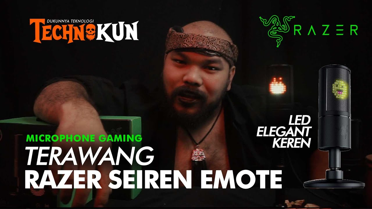 Syamsul Bakhri Salam -  Razer Seiren EMOTE! LED MIC