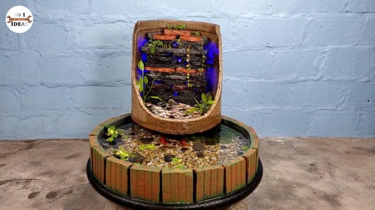 DIY Channel - Membuat Aquarium dengan Air Terjunnya
