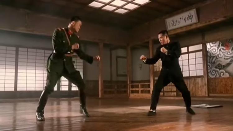 Scenes Movie - Jet Li vs Japanese General - Best Fight Scene Fist of Legend