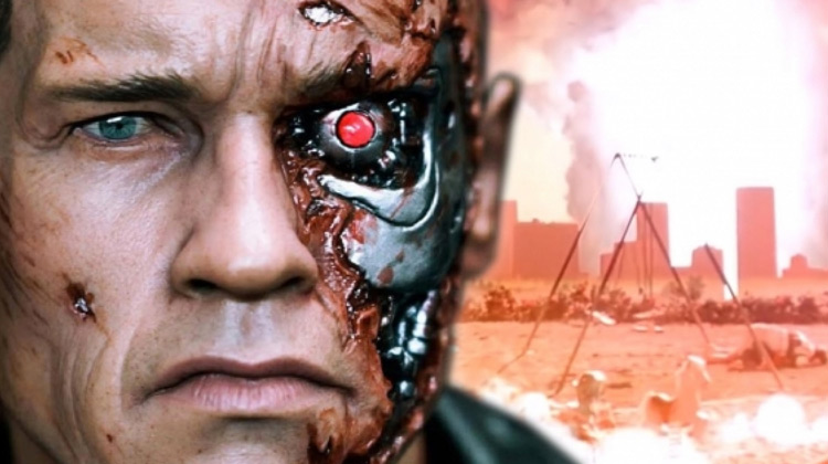 Scenes Movie - Make Up Wajah Karakter Terminator - TERMINATOR GENISYS