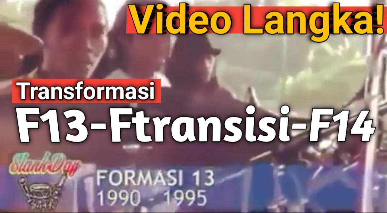 Yozar channel - SLANK F13-F transisi-F14