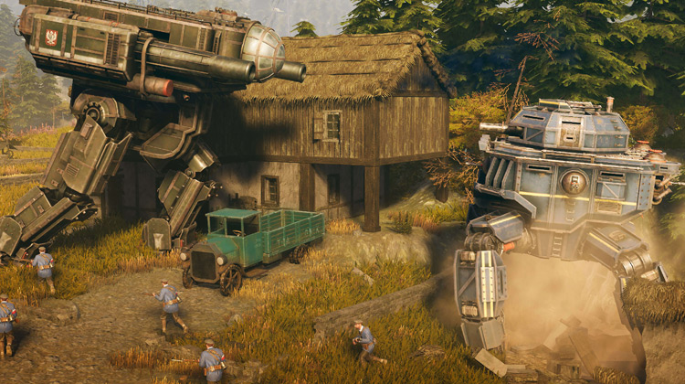 Scenes Movie - Iron Harvest - Official Cinematic Trailer