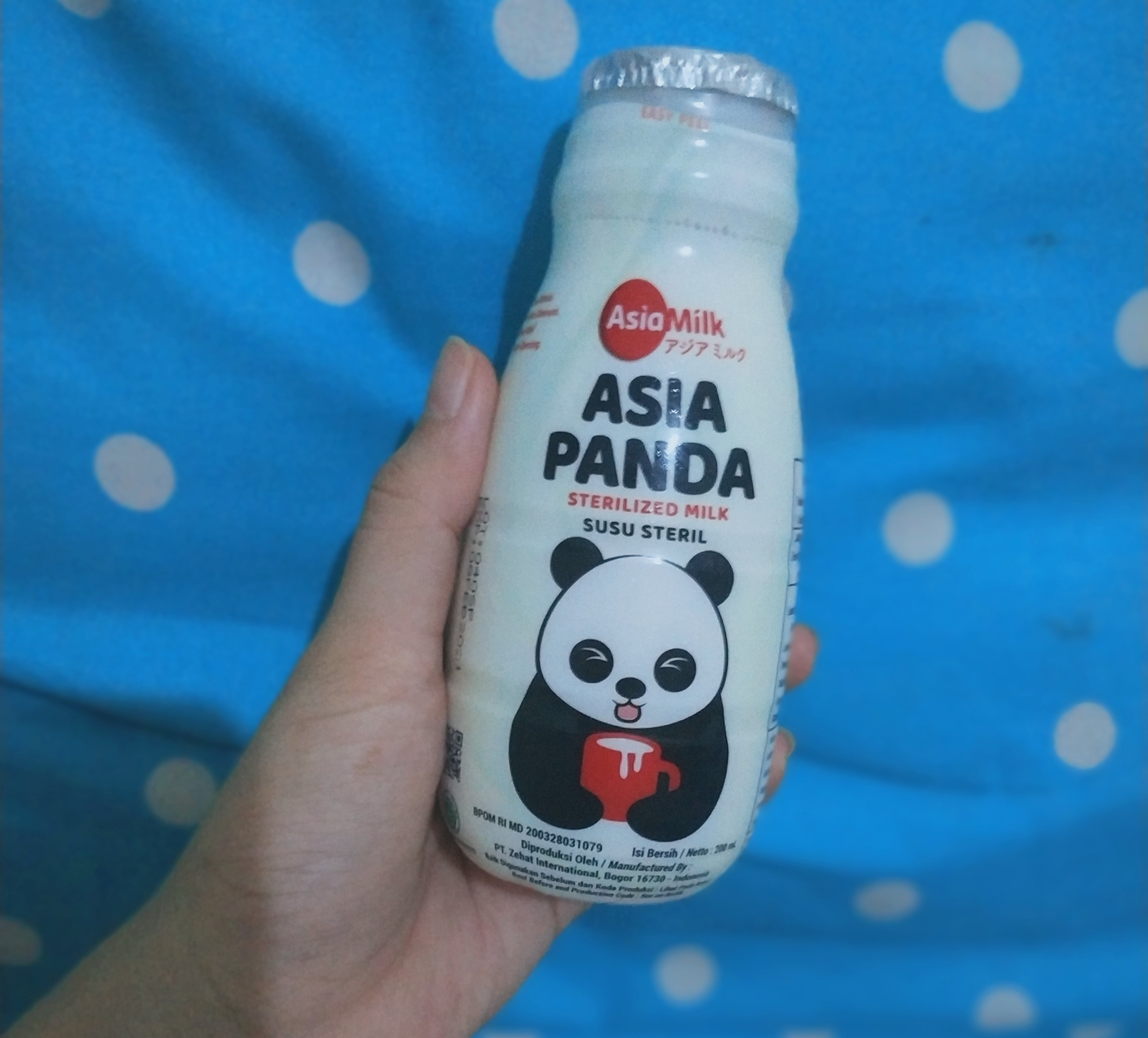 Mother of cat - [Review Product] Susu Steril Asia Panda