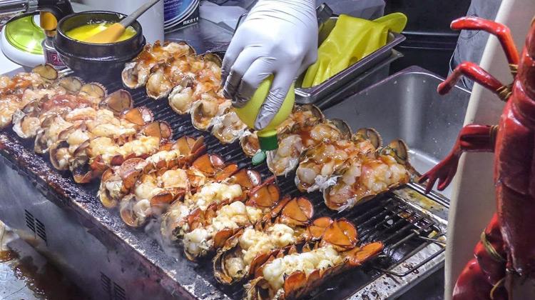 Kuliner Channel - Best Korea Street Food in Seoul, Myeongdong District