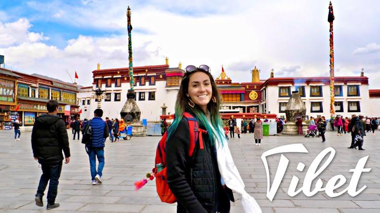 Traveling World - First Day in Lhasa Tibet - Traveling Vlog