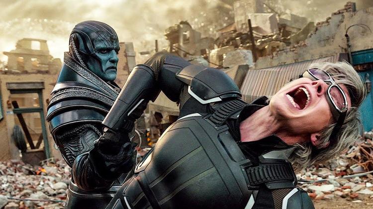 Scenes Movie - Best Fight Quicksilver vs Apocalypse - X-Men Apocalypse