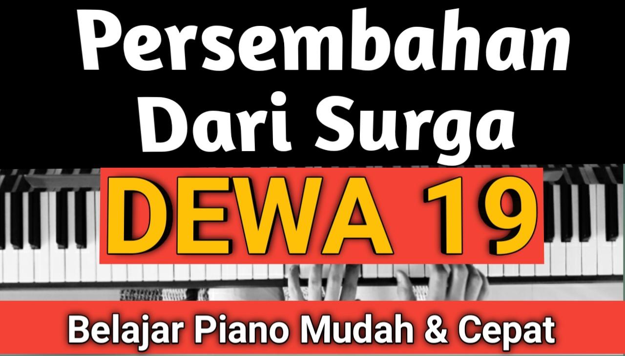 Yozar channel - Persembahan Dari Surga (DEWA 19) Tutorial Piano
