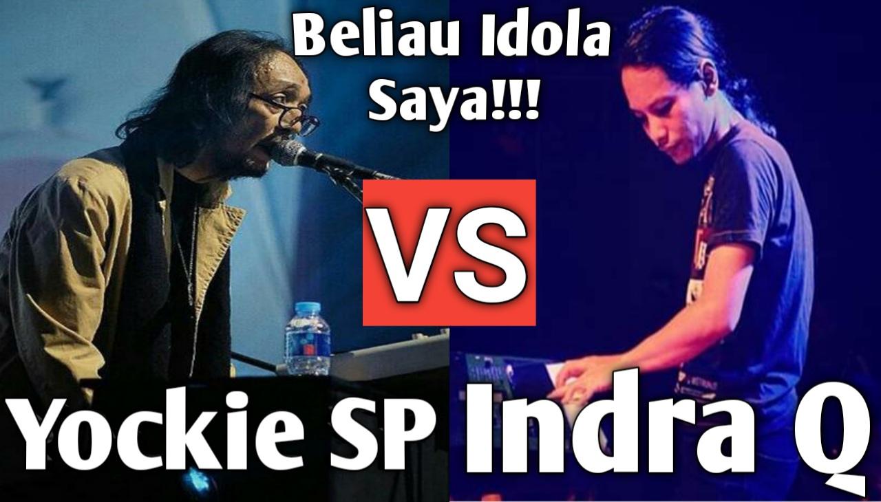 Yozar channel - Yockie SP Vs Indra q (Beliau Idola Saya)