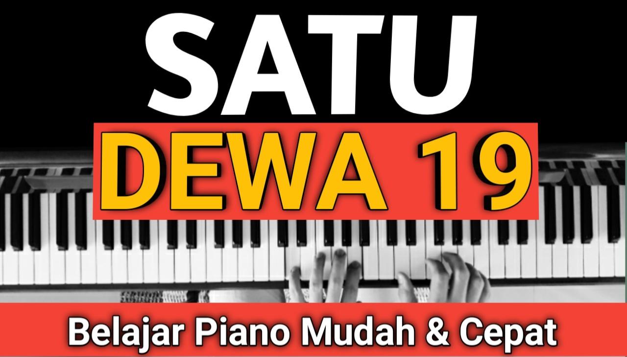 Yozar channel - SATU (DEWA 19) Tutorial Piano
